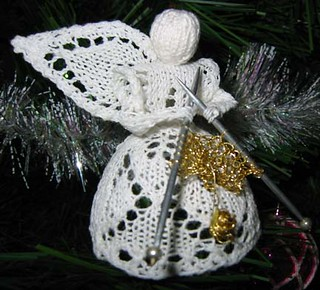 Knitting Pattern For Angel Wings : Ravelry: 2nd-wing-knitting Angel (Leaf Angel) pattern by ...