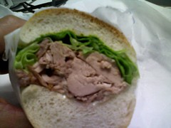 fresh roasted turkey sandwich, midtown ny lunch, turkey sandwich, turkey hero sandwich, city 75 deli, rockefeller plaza