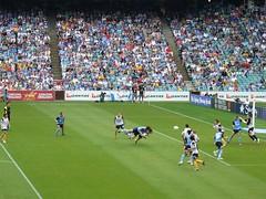 105 Sydney FC goal (eytl) Tags: football goal soccer diving header mariners centralcoast popovic aleague sydneyfc sydneyfootballstadium
