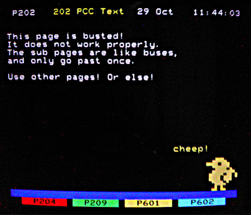 Paramount Comedy teletext - Page 202 | Flickr - Photo Sharing!