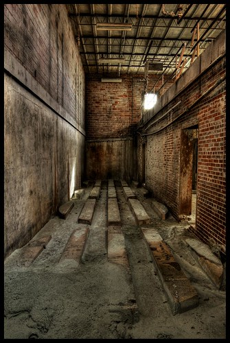 Abandoned Military Munitions Factory, Alabama