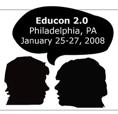 Educon 2.0 Logo -- designed by one of SLA's students