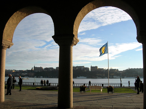 Arcades of Stockholm City Hall 4