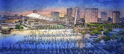 Tampa Bay Rays Stadium Rendering