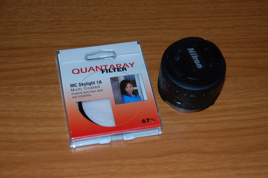 UV Filter and 50mm lens