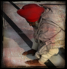 Towards Enlightenment (designldg) Tags: portrait people india man hands religion belief elder devotion turban sikh punjab shanti amritsar sikhism  indiasong hourofthediamondlight avertedvision
