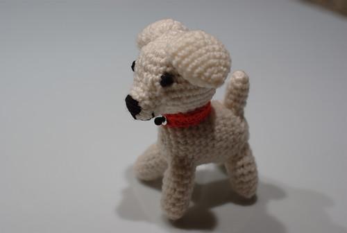 comment tricoter un chien en laine