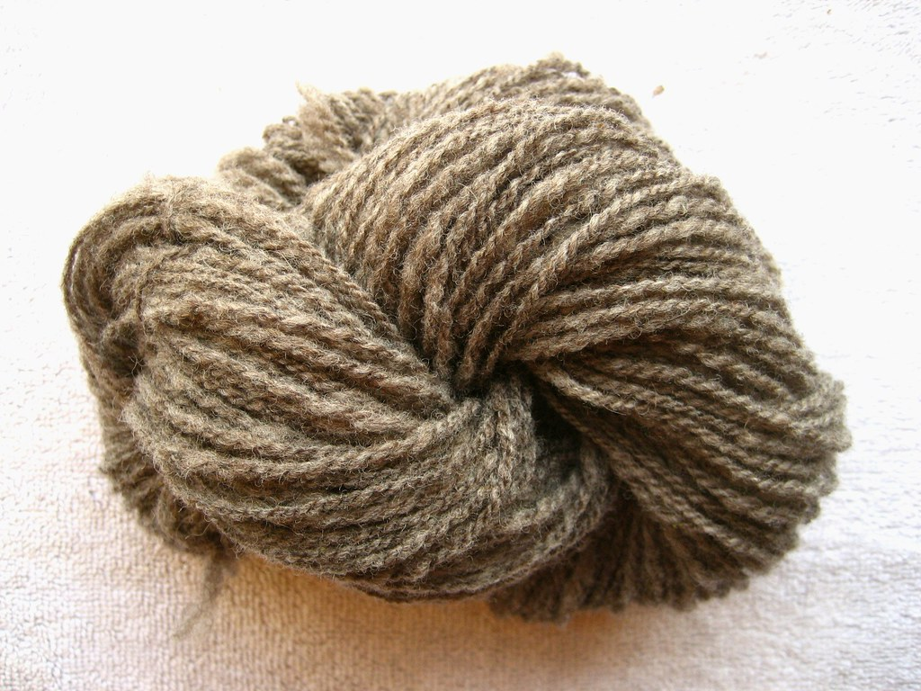 Rambouillet Skein Two - Washed
