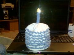 birthday cake boy hat fini