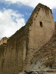 Inca ruins (dachalan) Tags: peru southamerica inca cuzco ruins cusco unescoworldheritagesite unesco worldheritagesite andes sacredvalley ollantaytambo nikoncoolpixp1 dachalan elvallesagrado