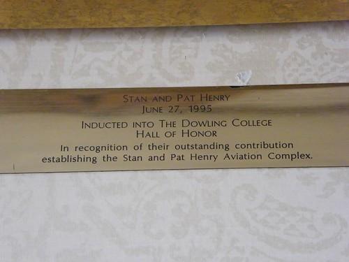 Henry Plaque