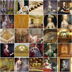 Marie Antoinette (Bella Luna Creative) Tags: painting design mosaic marieantoinette interiordecorating decorativepainting belladesignteam