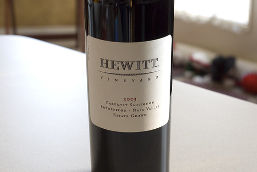 Hewitt Vineyard Cabernet Sauvignon