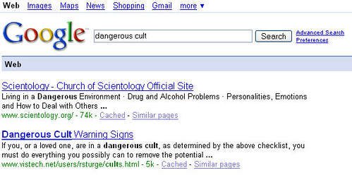 Dangerous Cult
