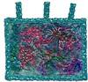 Aquafloral (Karen Cattoire) Tags: original art handmade originalart creation fabric fiberart tissu abstrait textiledart karencattoire fibretextile arttexilte