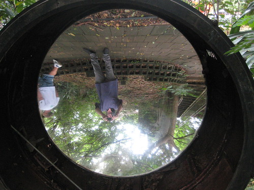 Searchlight Mirror East Point Military Museum