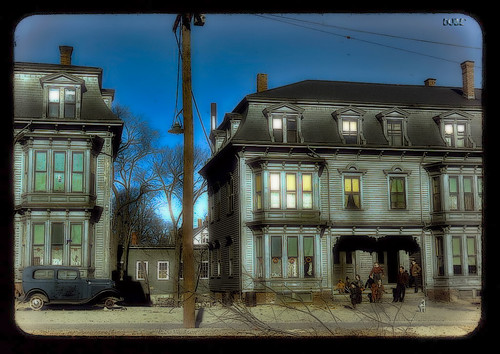 Old Townhouses