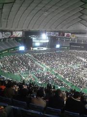 ポリス東京ドーム公演(2008年2月14日)