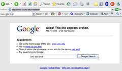 google Toolbar 5 Error 404