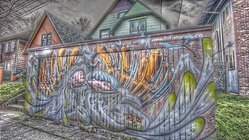 Street Art - Belmont