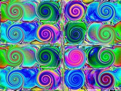 Psychedelic spirals - spirales psychdlique - Psychedelische Spiralen (Colour invertion) (Marco Braun) Tags: colors spiral colorado colorful colours catchycolours spirals couleurs vivid colored colourful psychedelic coloured espiral farbig catchycolour multicolor bunt spiraal spirale colorido versicolor psychdlique psychedelisch multicolore mehrfarbig variopinto spiralen supercolored renkli spirali bigarr multichrome vielfarbig couleures bariol colourartaward artlegacy multkolora  demuchoscolores helica