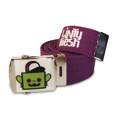 Hans the Monkey Canvas Belt