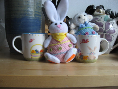 Easter Cups & Easter Bunny & Sheep