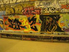 Graffiti Skatepark Bercy Mur 5