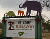 Welcome Sign  - Tulsa Zoo