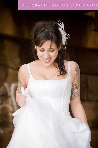 Tattooed Bride: Charmaine 5
