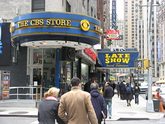 Ed Sullivan Theater home of The Late Show with David Letterman (andrew yeager-buckley) Tags: nyc lateshowwithdavidletterman edsullivantheater thecbsstore eyefi