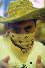 A masked bandit.