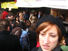 Jessica in the market