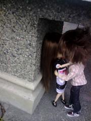 Passionate kiss??? (krissy_sakura ) Tags: sage pullip nina ryou taeyang chikaru krissysakura