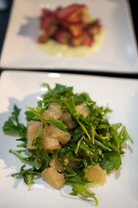 Pomelo & Mizuna Salad