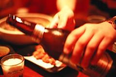 dozo.. (i'm Jac) Tags: film beer analog lomo friend brian lomolca haveadrink