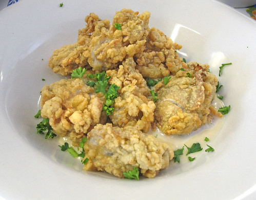 Blue Cheese Fried Oysters