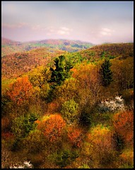 The painted Appalachians (Amy V. Miller) Tags: pink trees sky orange mountains west green nature yellow landscape virginia spring painted soe appalachians the naturesfinest blueribbonwinner mywinners platinumphoto anawesomeshot aplusphoto seacrhthebest diamondclassphotographer flickrdiamond citrit ysplix natyresfinest colourartaward flickrextraordinarycapture platinumphotography betterthangood goldstaraward amyvmiller