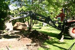stor sten_5813 (Viveka's photos) Tags: traktor sten motorredskap
