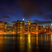 Downtown Manhattan cityscape- New York city