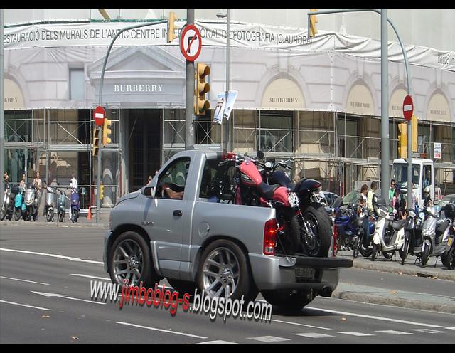 barcelona up truck chopper 10 bcn pickup harleydavidson moto dodge pick ram motos harleys srt srt10 motorcicle