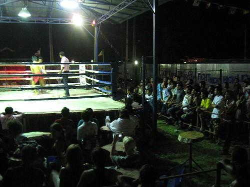 Thai fans cheering