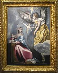 EL GRECO - LA  ANUNCIACION - MUSEO DE BUDAPEST (mflinera) Tags: el greco anunciacion pintura arte museo budapest hungria