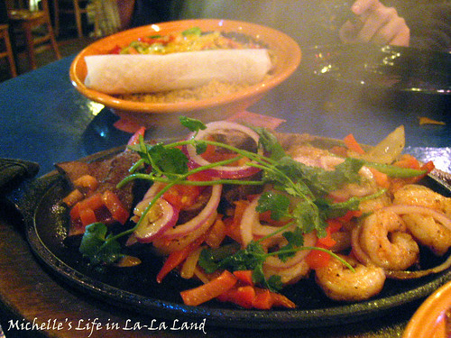 Fred's Mexican Cafe- Surf & Turf Fajitas