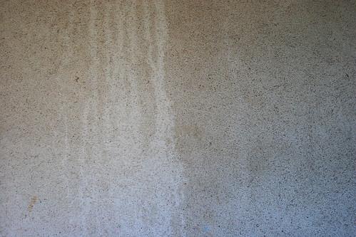 Mur cimenté