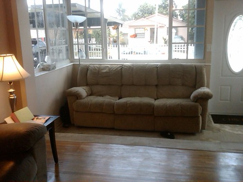 Big couch! Big Window!