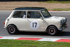 Austin Mini Cooper S / Richard Meins (mattbeee) Tags: festival racing historic motor hatch masters touring brands saloons ore66