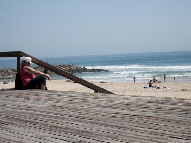 ver a praia
