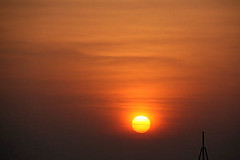 Sun-rise-1 (sanmang610) Tags: morning red sky orange sun india building nature horizontal clouds sunrise landscape early asia ray shades shade rise silhoutte vizag
