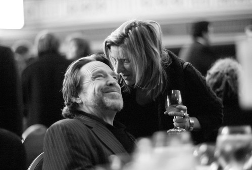 John Perry Barlow and Lisa Goldman